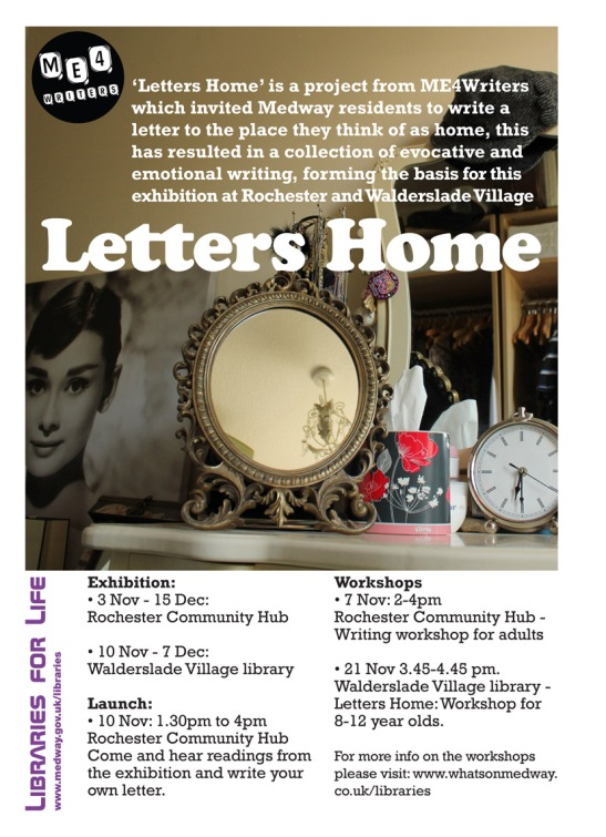Letters Home - 3rd November to 15th December - Medway