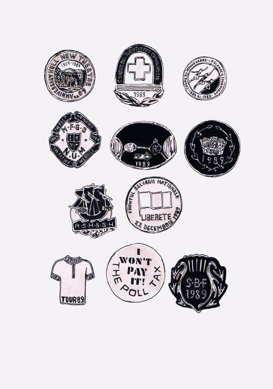 Badges 1989