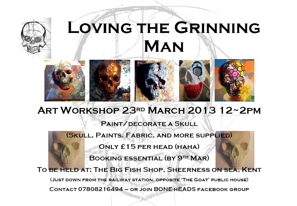 Painting Workshop With a Difference -23rd March 2013 - Sheerness