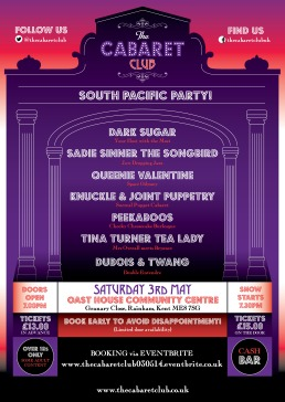 The Cabaret Club South Pacific Party 3rd May 2014