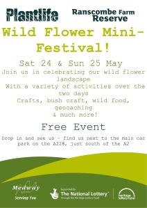Wild Flower Mini-Festival 24 & 25 May 2014 Ranscombe Farm Reserve