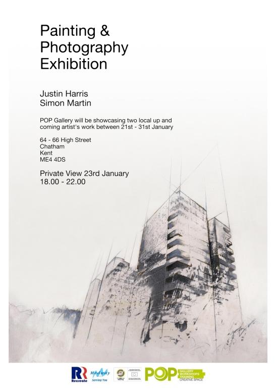 Simon Martin Justin Harris poster