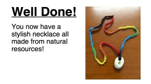 How to make a necklace 8
