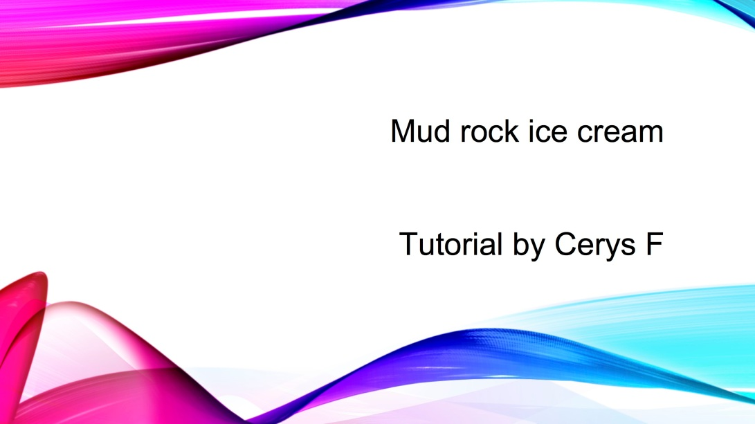 Mud rock ice cream 1