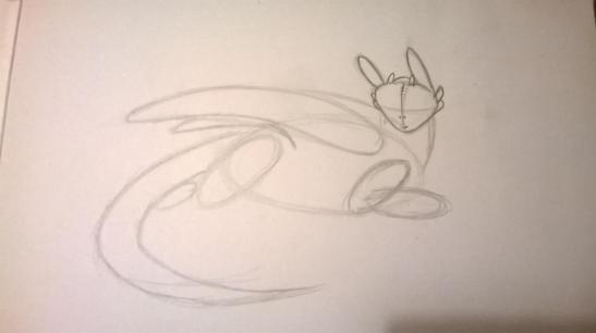 4 HOW TO DRAW TOOTHLESS FROM HOW TO TRAIN YOUR DRAGON 1