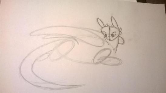 5 HOW TO DRAW TOOTHLESS FROM HOW TO TRAIN YOUR DRAGON 1