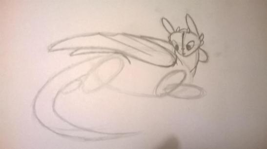 6 HOW TO DRAW TOOTHLESS FROM HOW TO TRAIN YOUR DRAGON 1