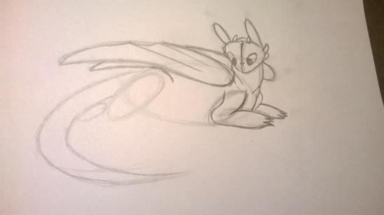 70 HOW TO DRAW TOOTHLESS FROM HOW TO TRAIN YOUR DRAGON 1
